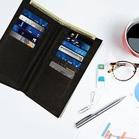 Leather Thin Card Holder Wallet