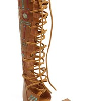 Women's Free People 'Bellflower' Tall Gladiator Sandal