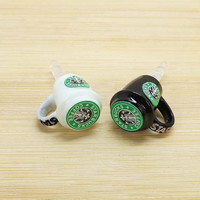 2 colors Cute Starbucks Coffee Mark Cup Dust Plug 3.5mm Phone Dust Stopper Earphone Cap Headphone Jack Charm for iPhone 4 4S 5 HTC Samsung
