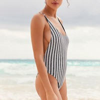 Billabong Get In Line One-Piece Swimsuit | Urban Outfitters