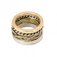 Quad Personality Rings