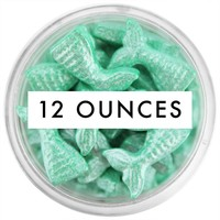 Pearly Mint Green Mermaid Tail Candy Sprinkles 12 OZ