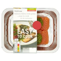 Easy To Cook Salmon Fillets with Pesto at Ocado