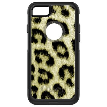 DistinctInk™ OtterBox Commuter Series Case for Apple iPhone or Samsung Galaxy - Yellow Black Leopard Fur Skin