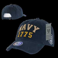 Vintage Athletic Style USN Navy Baseball Cap Ball Hat-Armed Forces-S80