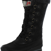 Pajar Hirica Women's High Duck Snow Boots Waterproof