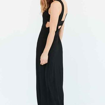Silence + Noise Bandeau Knit Maxi Dress