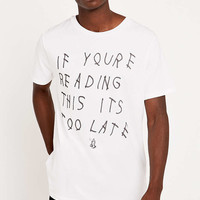 Urban Outfitters T-shirt Drake Praying Hands Tee - Urban Outfitters