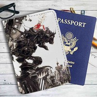 Final Fantasy VI Game Leather Passport Wallet Case Cover