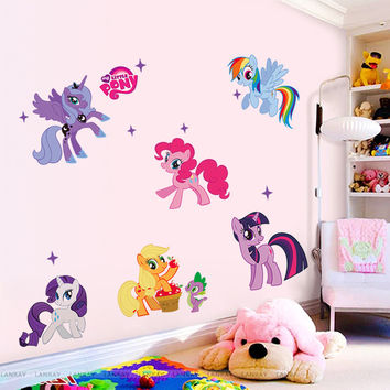Kid Wall Stickers My Little Pony