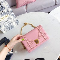 Dior Women Handbag Leather Ladies Hand Bag For Women Designer Vintage Shoulder Bag