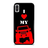 I LOVE MY JEEP iPhone X / XS case