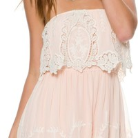 SWELL LARK TUBE LACE FLUTTER DRESS | Swell.com