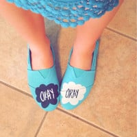 The Fault in Our Stars Hand Painted Shoes