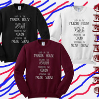 sweater men,sweater women unisex size American Horror Story Four Seasons