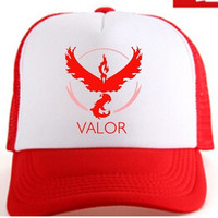 Pokemon Go Team Valor Snapback Hat