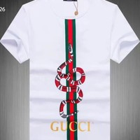 "t-shirt "" king snake"" logo Gucci new with tags"