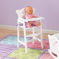 KidKraft Lil' Doll High Chair (accommodates American Girl® dolls) - 61101