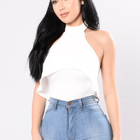 Into The Groove Bodysuit - Ivory
