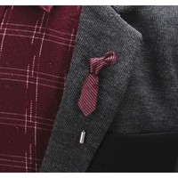 Miniature Ties Collection Lapel Pins - 8 Colors