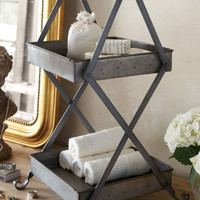 Clara Stand - Toiletry Stand, Hand Towel Holder, Soap Holder   Soft Surroundings