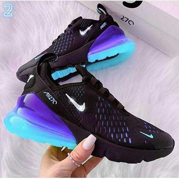 Image of NIKE AIR MAX 270 Breathable running shoes sneakers