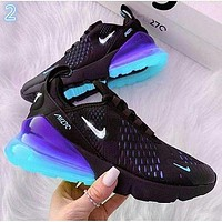 NIKE AIR MAX 270 Breathable running shoes sneakers