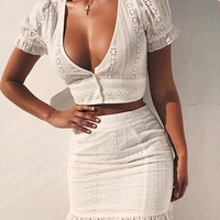 Buy Our Sweetie Top in White Online Today! - Tiger Mist