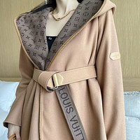 LV 2021 new western style Hooded Coat for women