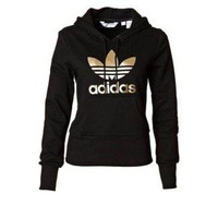 "shosouvenir""Adidas"" men and women Fashion Hooded Top Sweater Pullover Sweatshirt"