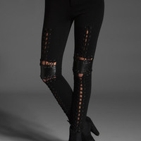 STYLE STALKER Viper Room Leggings in Black at Revolve Clothing - Free Shipping!