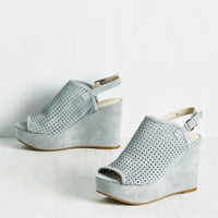 Landscape Wedge in Powder Blue