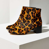 Thelma Leopard Print Ankle Boot - Urban Outfitters