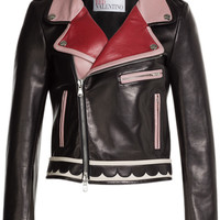 RED Valentino - Leather Jacket