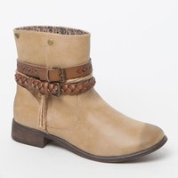 Roxy Skye Ankle Boots - Womens Boots - Brown