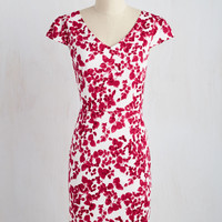 Impressive Accomplishments Dress in Magenta | Mod Retro Vintage Dresses | ModCloth.com