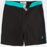 Wellen Bolinas Mens Boardshorts Turquoise/Black  In Sizes
