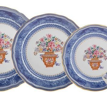 MOTTAHEDEH Mandarin Bouquet Dinnerware Collection