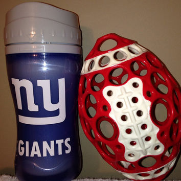 New York Giants Sippy Cup. Insulated, leak proof, and BPA free