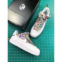Takashi Murakami X Doraemon X Nike Air Force 1 Low Fashion Shoes