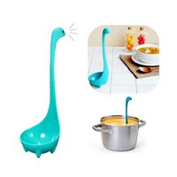 Ness Monster Cartoon Kitchen Plastic Spoon Cooking Tools