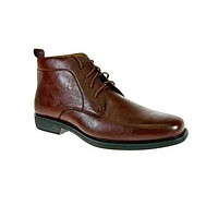 Men's 506001 Lace Up Ankle High Casual Dress Boots