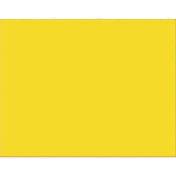 Poster Board 25 Sheet Lemon Yellow