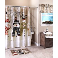 Snowplace Like Home Bath Collection