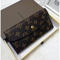 shosouvenir Louis Vuitton LV Fashion Trending Women Leather Zipper Tote Handbag Wallet Purse Bag