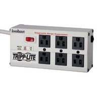 Tripp Lite Isobar 6 Outlet Surge Protector Power Strip 6ft Cord Right Angle Plug 3300 Joules (ISOBAR6ULTRA)