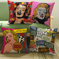 Marilyn Monroe Decorative Cushion Covers