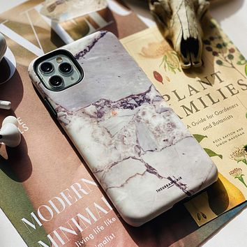 Grey Marble Slate Tough Phone Case