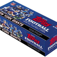 2008 Topps NFL Complete Factory Set - New York Giants (440 Cards)