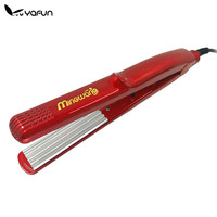 YAFUN Red Corrugated Curling Hair Chapinha Hair Straightener Crimper Fluffy Small Waves Hair Curlers Curling Irons Styling Tools